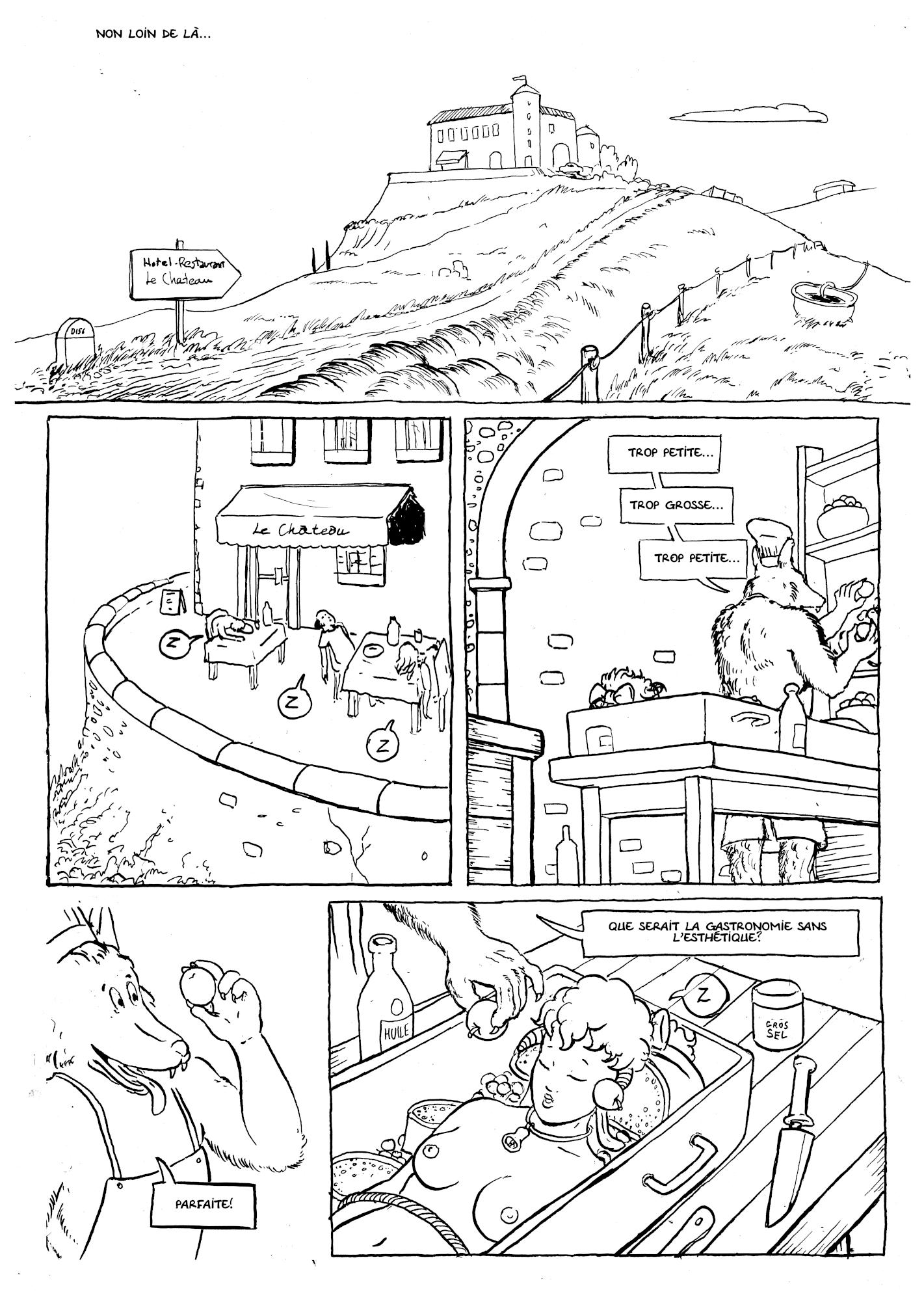 Agnelle et le restaurant 6