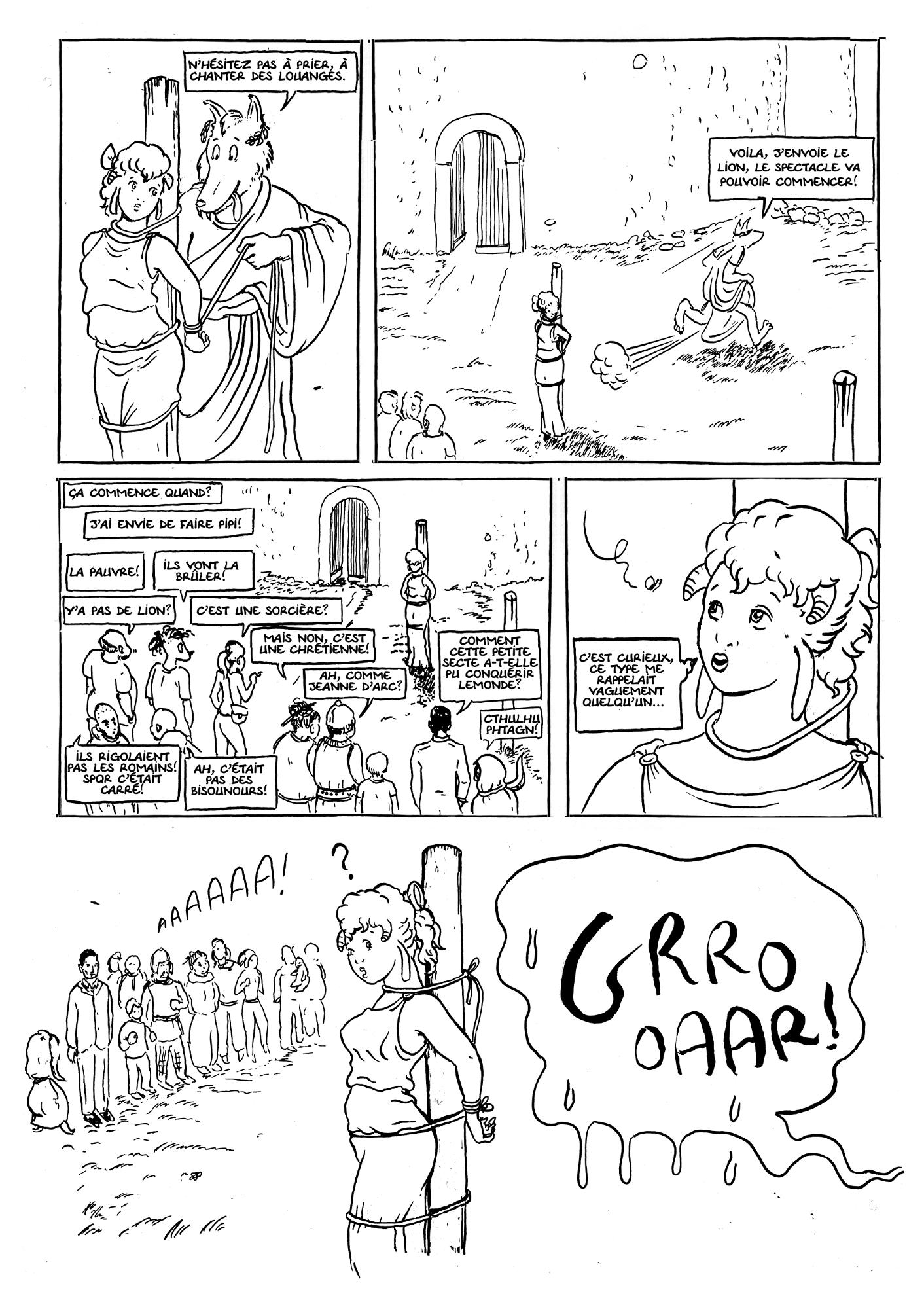 Agnelle et les jeux du cirque 3